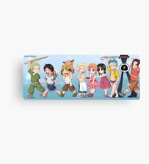 One piece children Canvas Print
