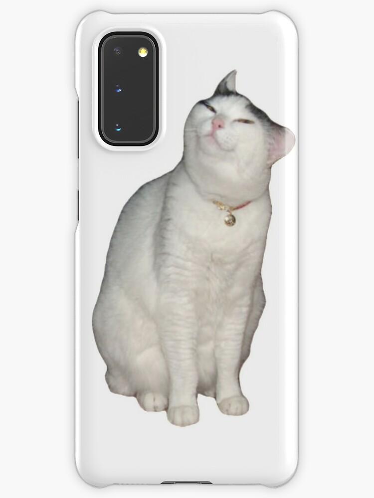 Smug Cat Meme Case Skin For Samsung Galaxy By Monkofyomom Redbubble