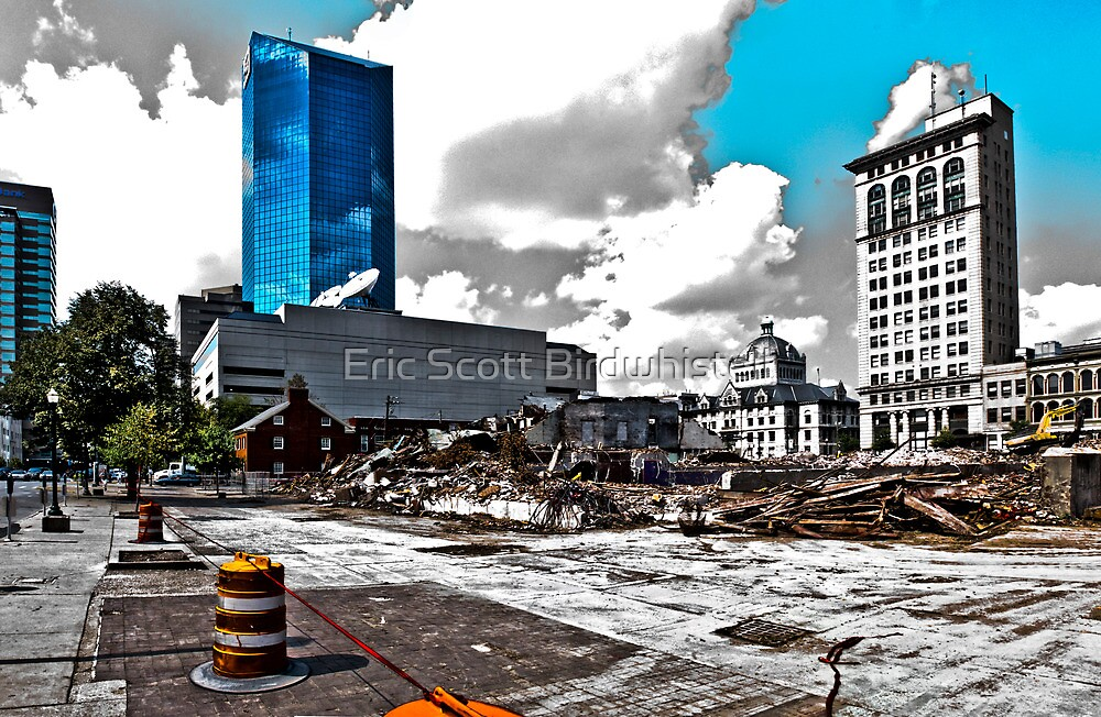 Downtown's Destruction by Eric Scott Birdwhistell
