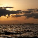 Sunset over Palma Bay by Kasia-D