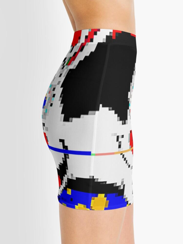 Alternate view of CART^^N CL^^WN C^T Mini Skirt