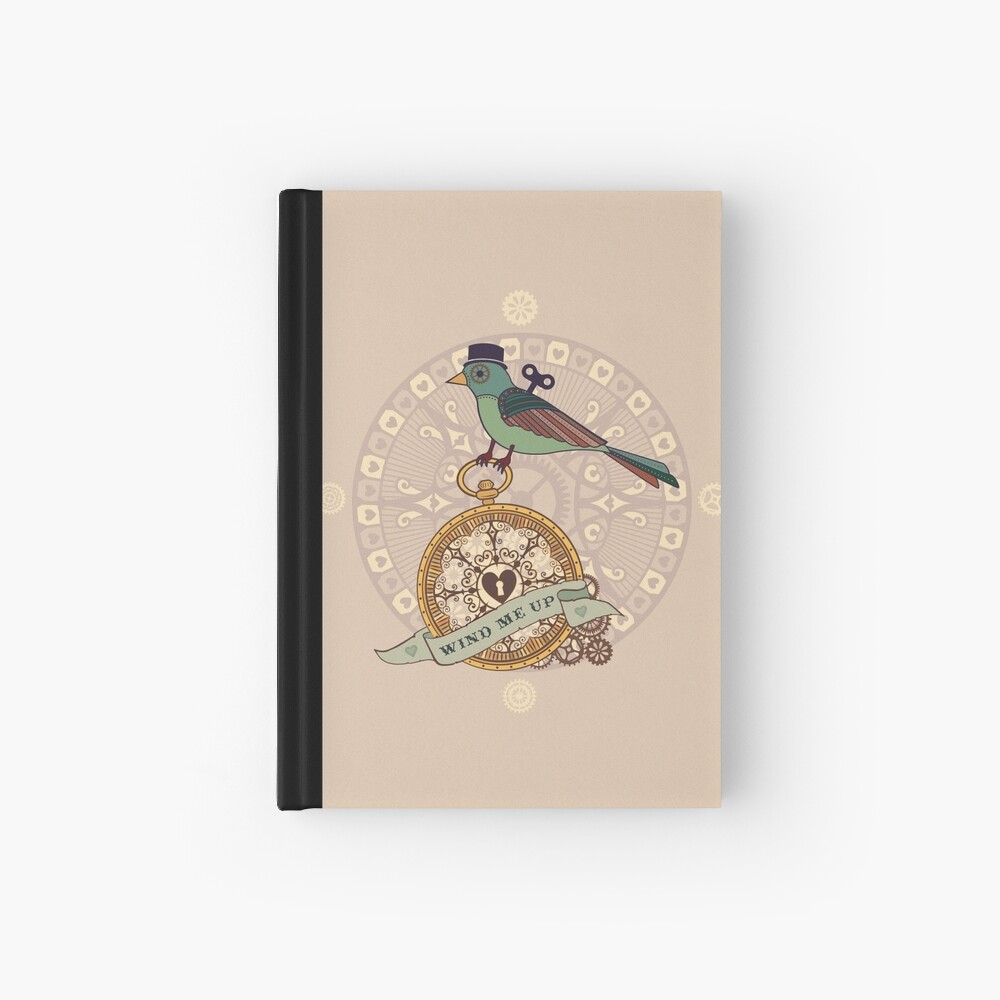 Wind me Up Hardcover Journal