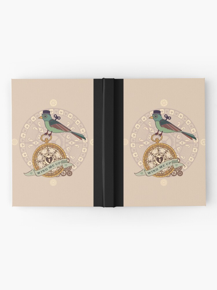 Alternate view of Wind me Up Hardcover Journal
