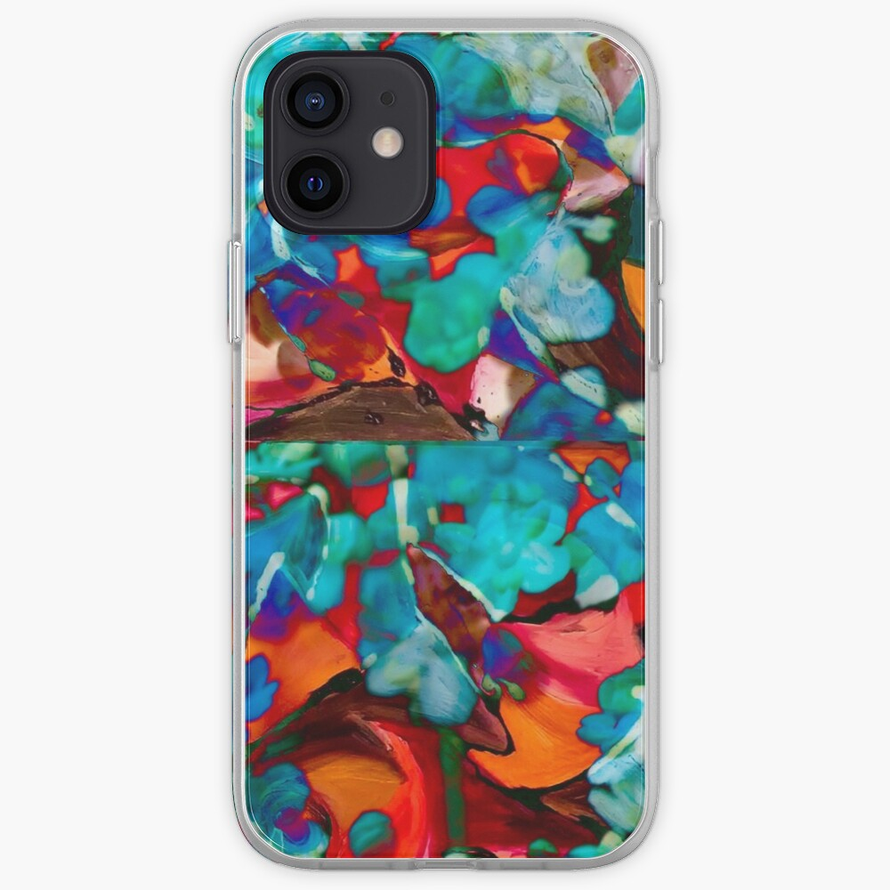 multiform colored shapes abstract art iPhone Case & Cover