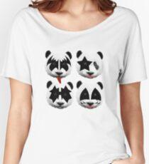 panda kiss  Women's Relaxed Fit T-Shirt