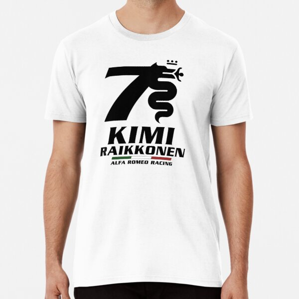 Kimi Raikkonen Alfa Romeo Racing Premium T-Shirt