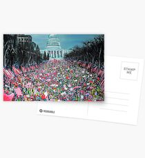 Women's March on Washington Postcards