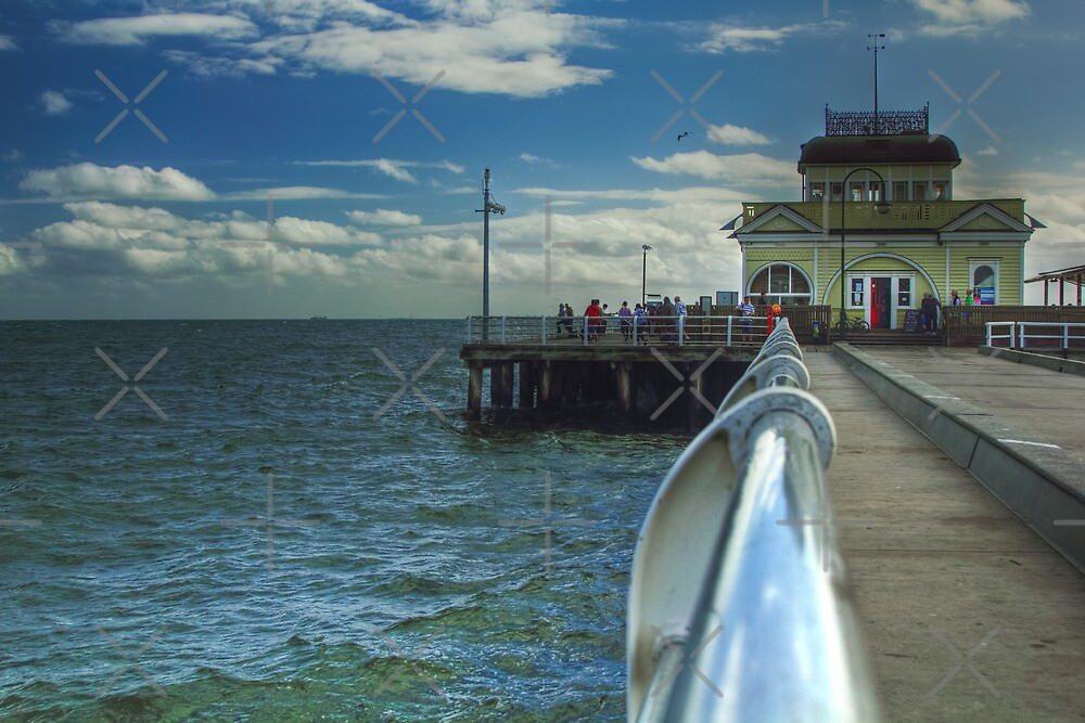 St Kilda Pier by Lawrie McConnell