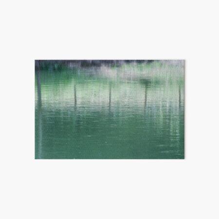 green water Art Board Print