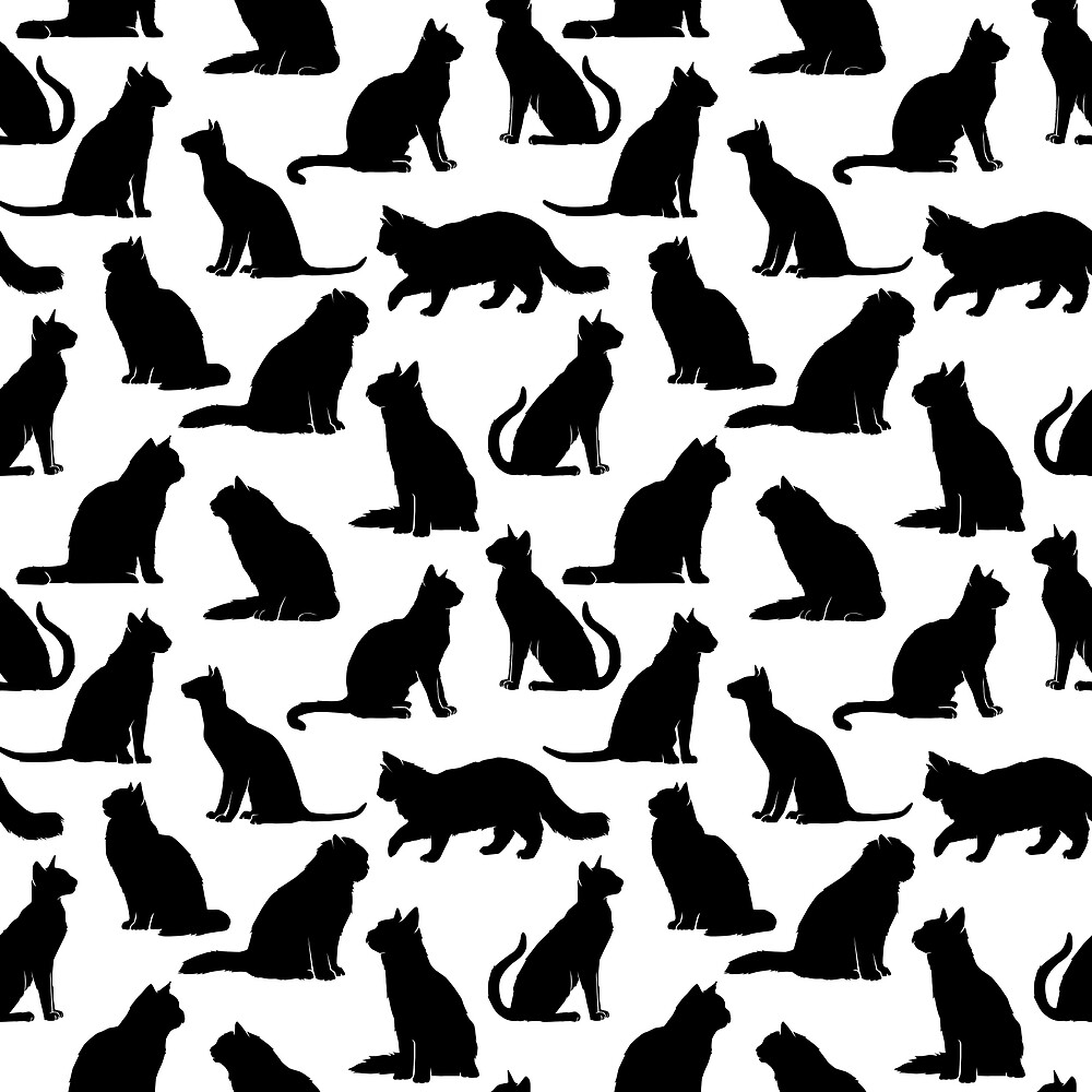 Cat Pattern by wellbreddesign