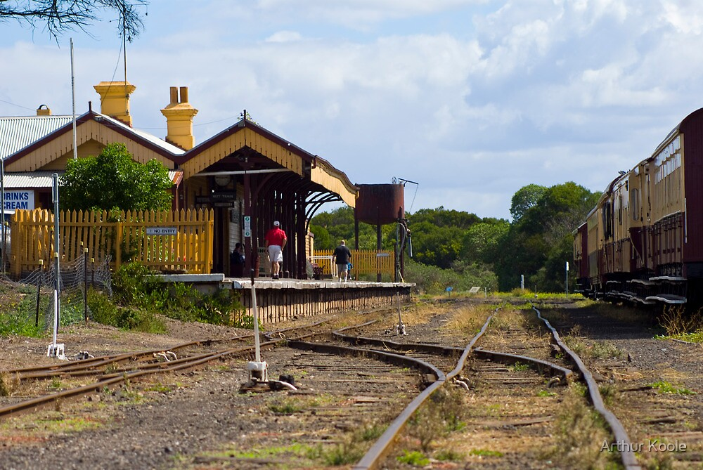 Bellarine  Station. by Arthur Koole