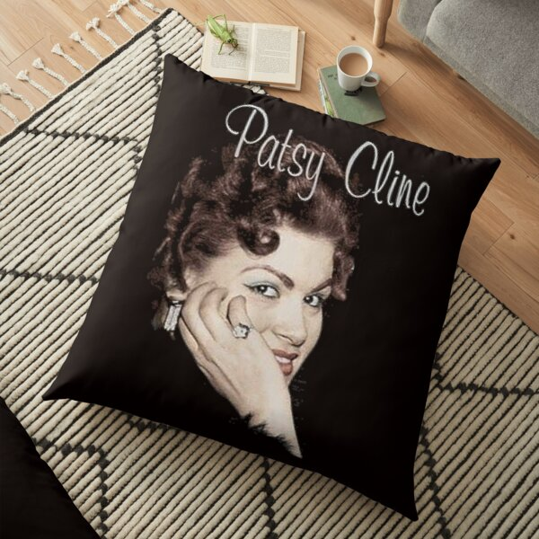 Patsy Cline Floor Pillow