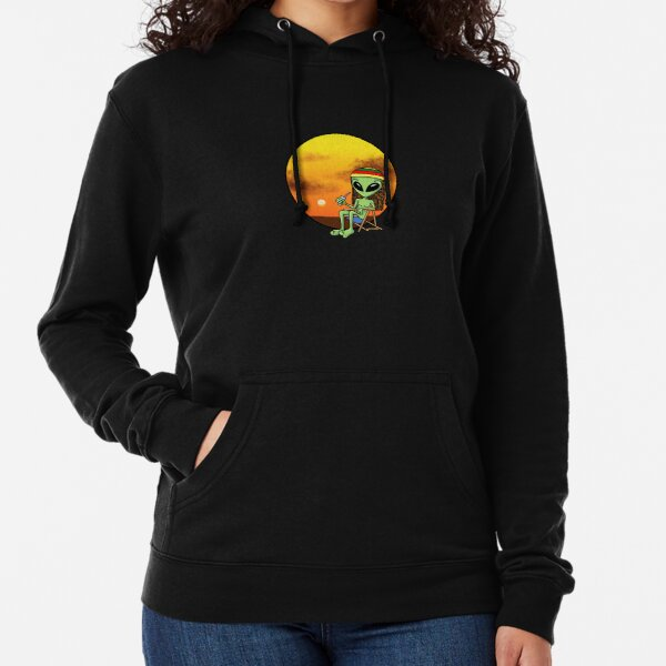 Ali on Vacations by Silvana Arias Lightweight Hoodie