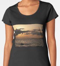 Sunset over Palma Bay Women's Premium T-Shirt