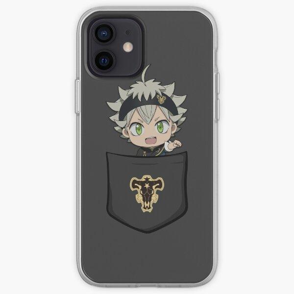 Asta Black Clover iPhone Soft Case