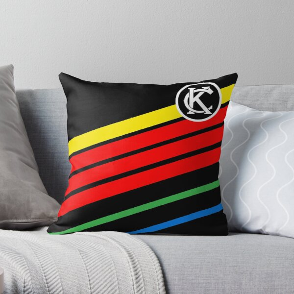 Retro Wizzards Throw Pillow