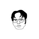 Dwight cartoon by Claire Chiarelli