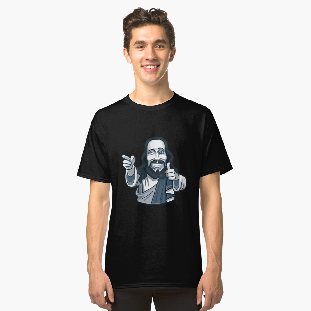 ★ jesus is watching Classic T-Shirt Front
