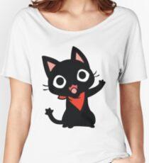 ★ Kawaii WaveCat Women's Relaxed Fit T-Shirt