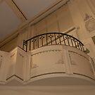 lovely art deco balcony Northcote Town Hall by BronReid