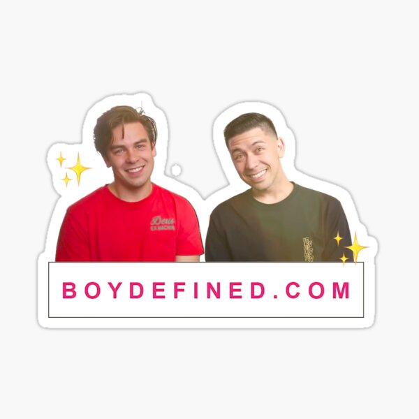 Boy Defined Sticker