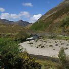 historical battle site Glen Sheil en route to Isle of Skye by BronReid