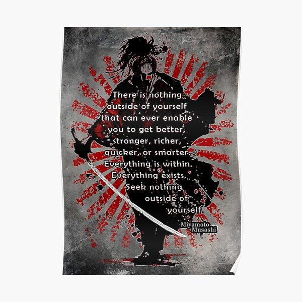 Samurai, musashi miyamoto , Poster