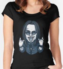 ★ Heavy Metal Art Women's Fitted Scoop T-Shirt