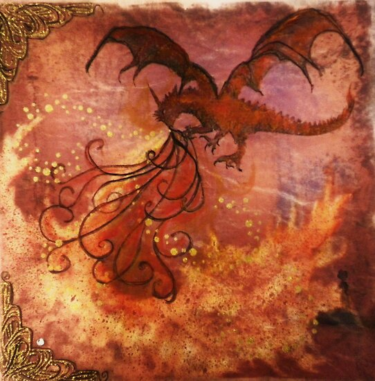Smaug The Magnificent by Vicki James