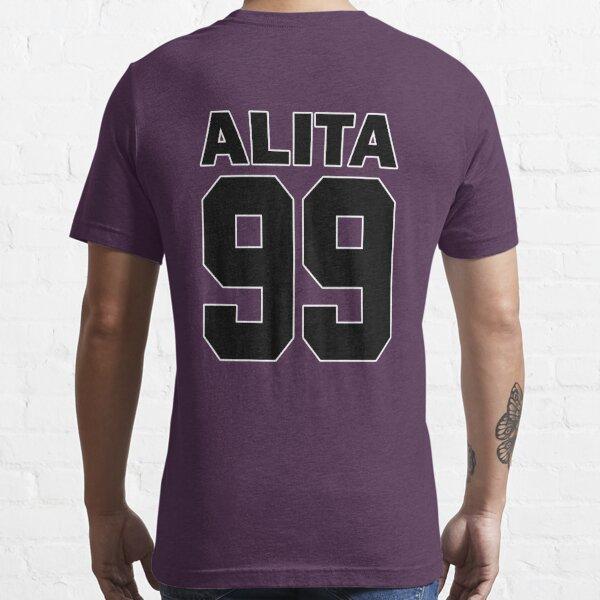 Alita - 99 - Noir - Maillot Moterball Battle Angel T-shirt essentiel