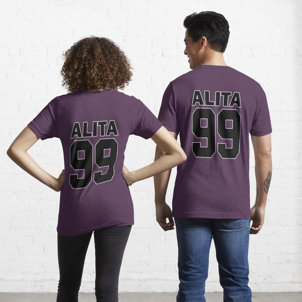 Alita - 99 - Black - Battle Angel Moterball Jersey Essential T-Shirt