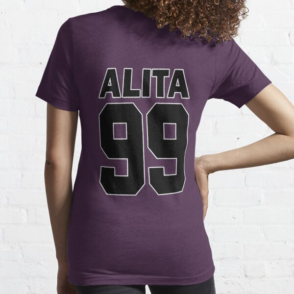 Alita - 99 - Black - Battle Angel Moterball Jersey Essential T-Shirt