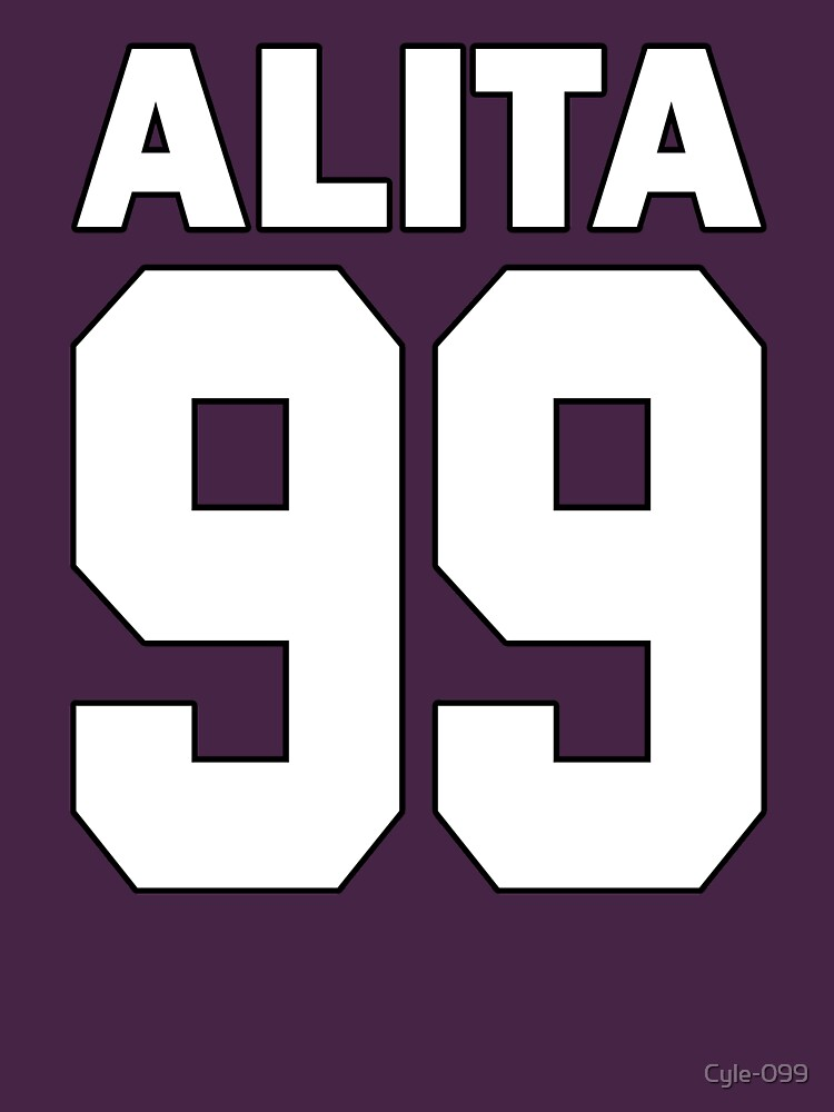 Alita - 99 - White - Battle Angel Moterball Jersey by Cyle-099