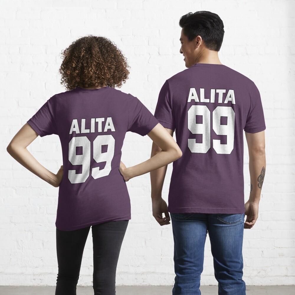 Alita - 99 - White - Battle Angel Moterball Jersey Essential T-Shirt