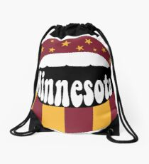 Minnesota Lips Drawstring Bag