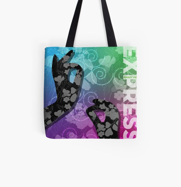 Express All Over Print Tote Bag