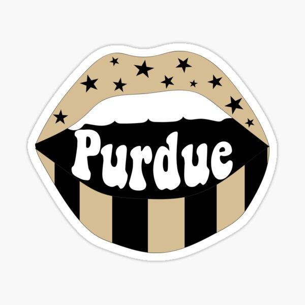 Purdue Lips Sticker