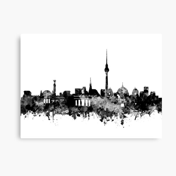 berlin skyline Canvas Print