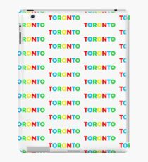 Toronto Color Sign iPad Case/Skin