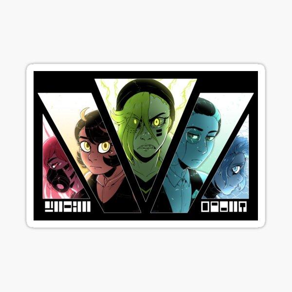 Vindicaris Character Cuts 2019 Sticker