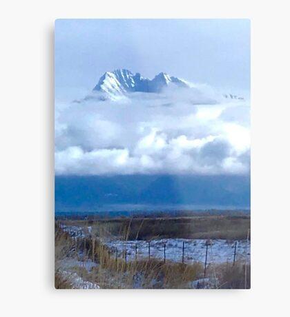 Mount Harding Metal Print