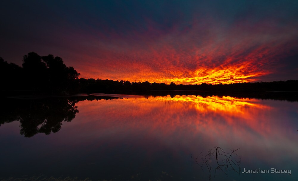 Tie-Dye Lake by Jonathan Stacey