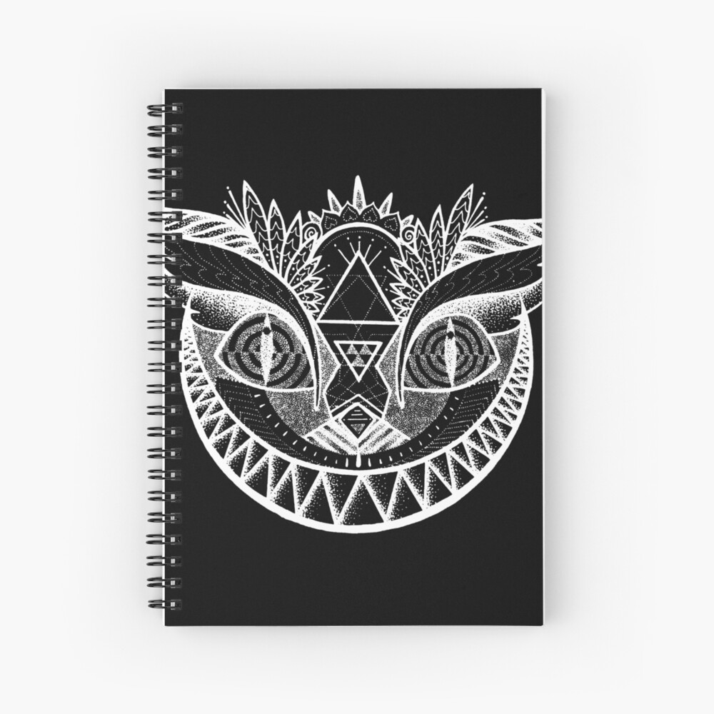 We're All Maddd Here - Black Spiral Notebook