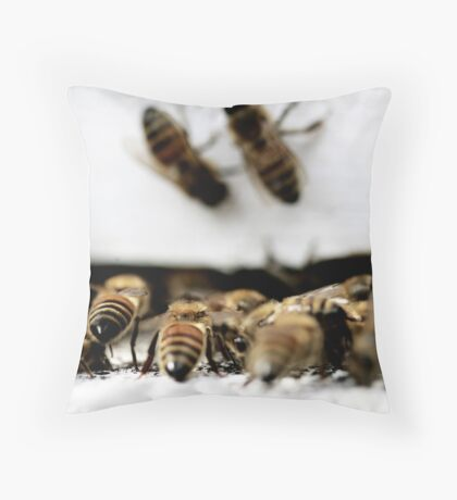 busy bottoms - 01 Throw Pillow