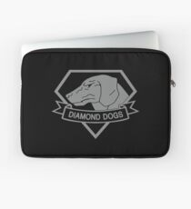 Metal Gear Solid - Diamond Dogs over Heart (Gray)  Laptop Sleeve
