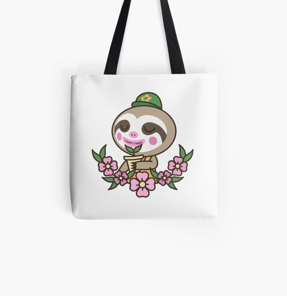 Leif Loves Plants | Animal Crossing All Over Print Tote Bag