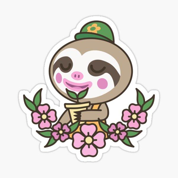 Leif Loves Plants | Animal Crossing Sticker