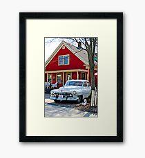 Peabody Street... Framed Print