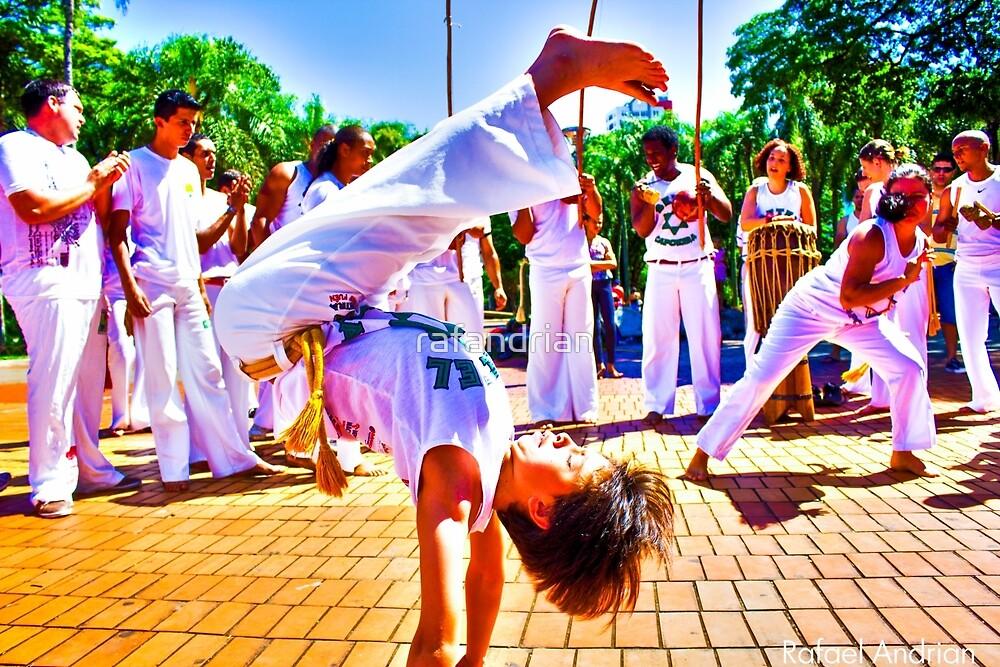 Capoeira Boy by rafandrian