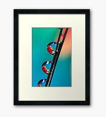 Blooming Needle Framed Print